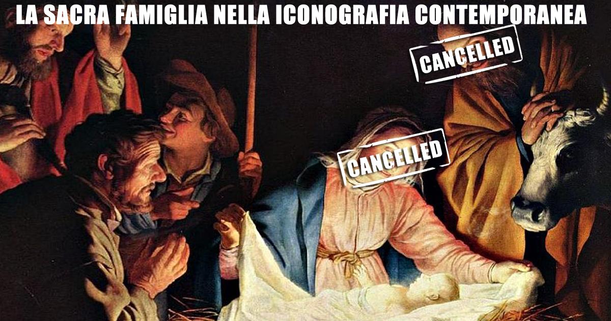 La Sacra Famiglia nella iconografia contemporanea