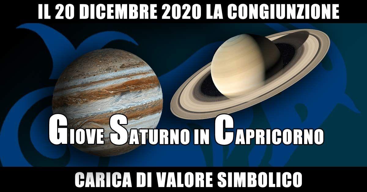 Il 20 dicembre ventiventi Giove e Saturno daranno Spettacolo