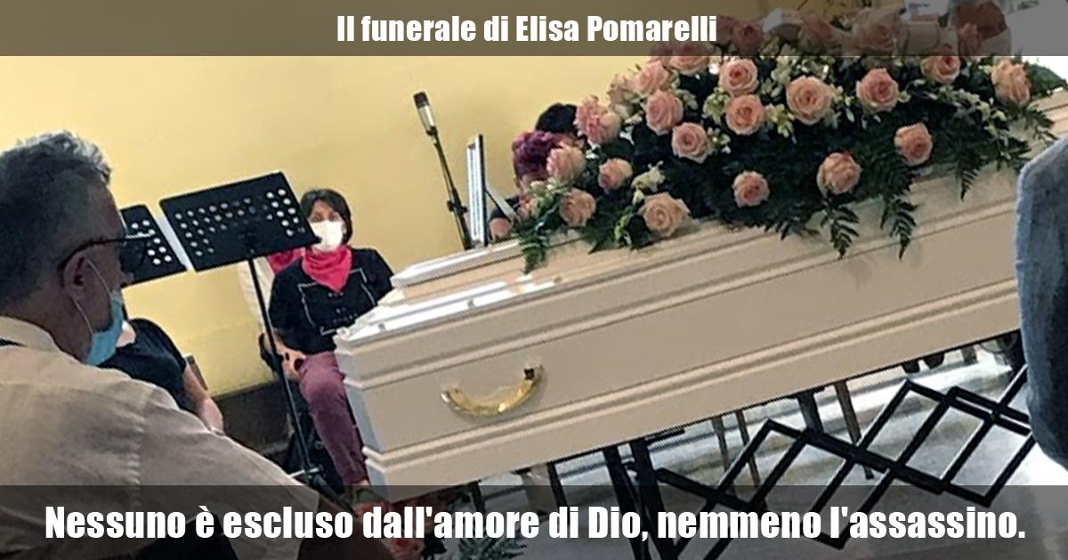 Il funerale di Elisa Pomarelli