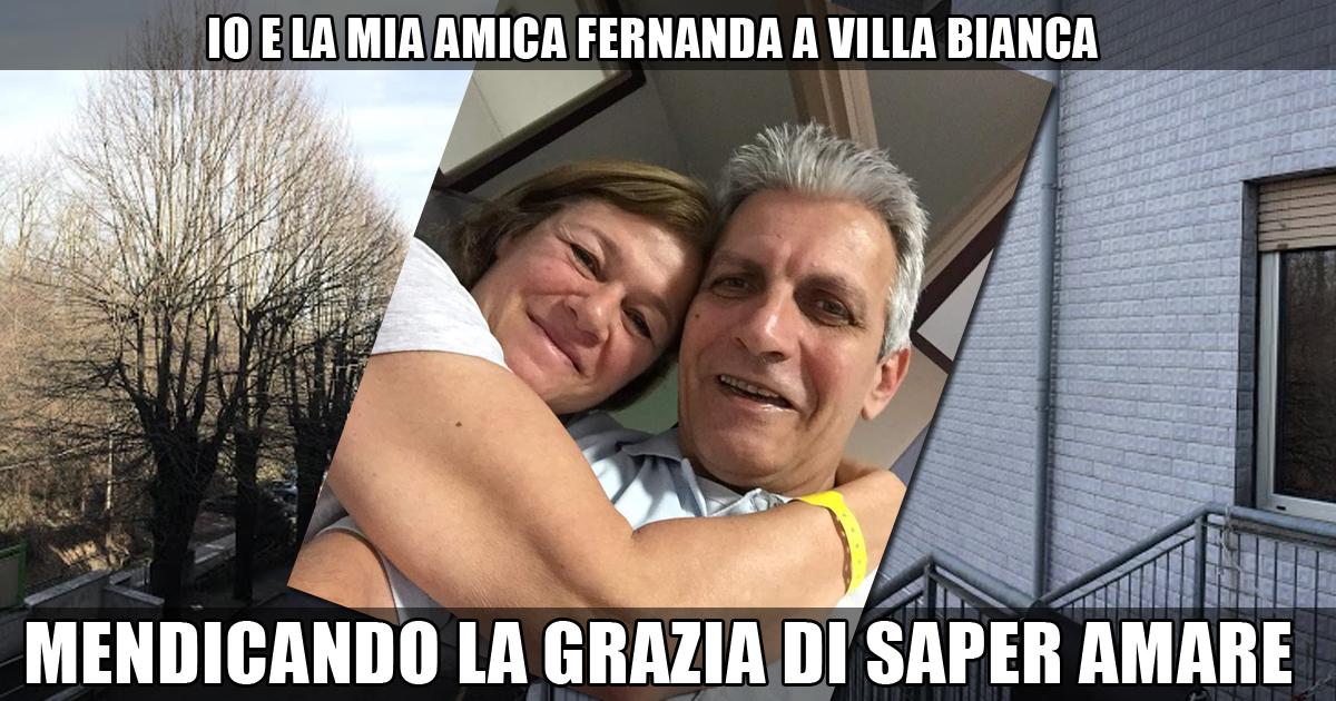MENDICANDO LA GRAZIA DI SAPER AMARE con Fernanda Masotti