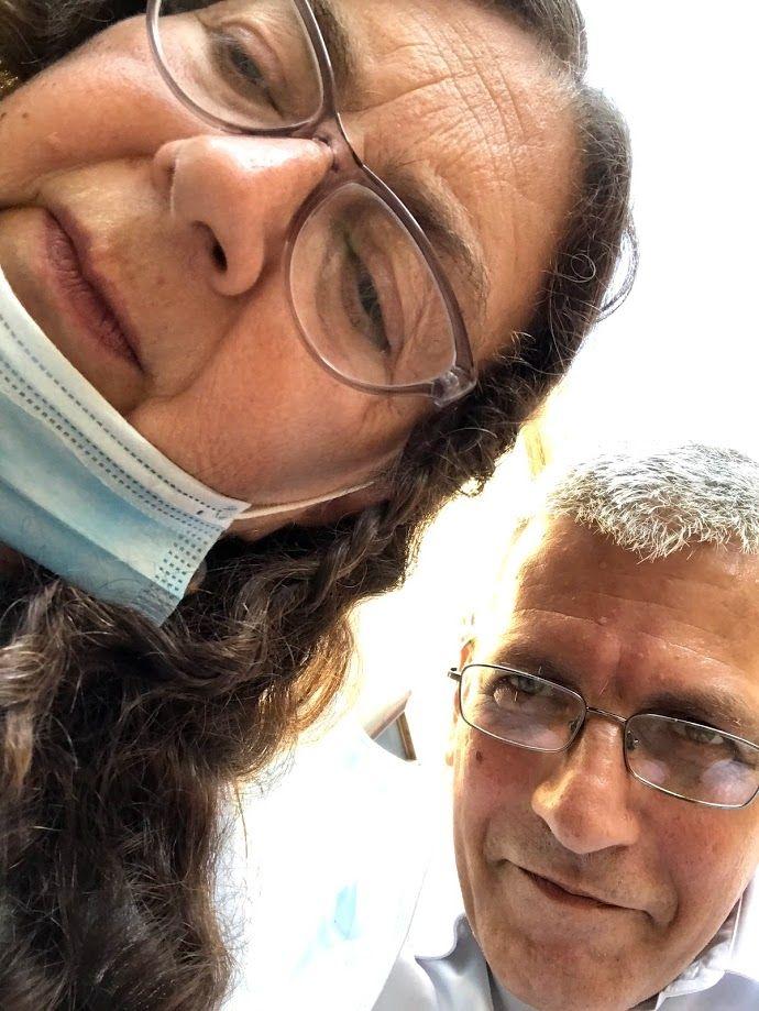 selfie con Carmelina Rotundo