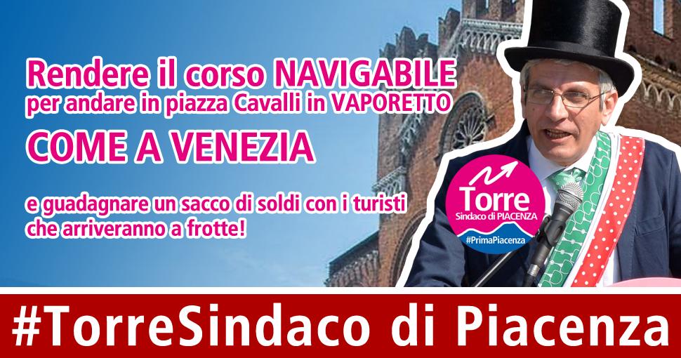 [Comunicato stampa] Rendere corso Vittorio Emanuele Navigabile