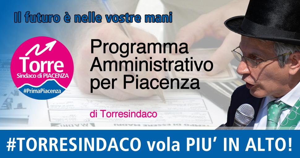Il Programma di Torresindaco per Piacenza