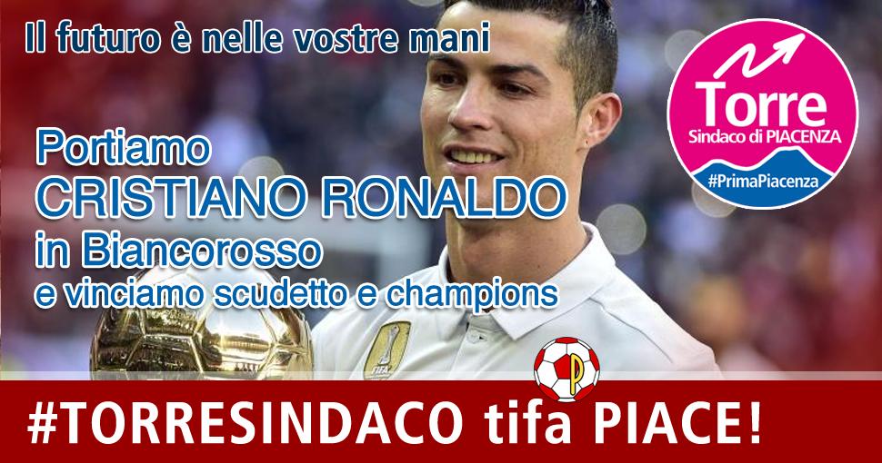 Cristiano Ronaldo in Biancorosso